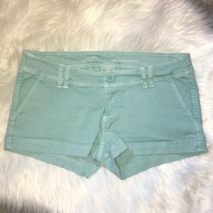 ⭐️ MOSSIMO SIZE 2 LOW RISE SHORT SHORTS BLUE